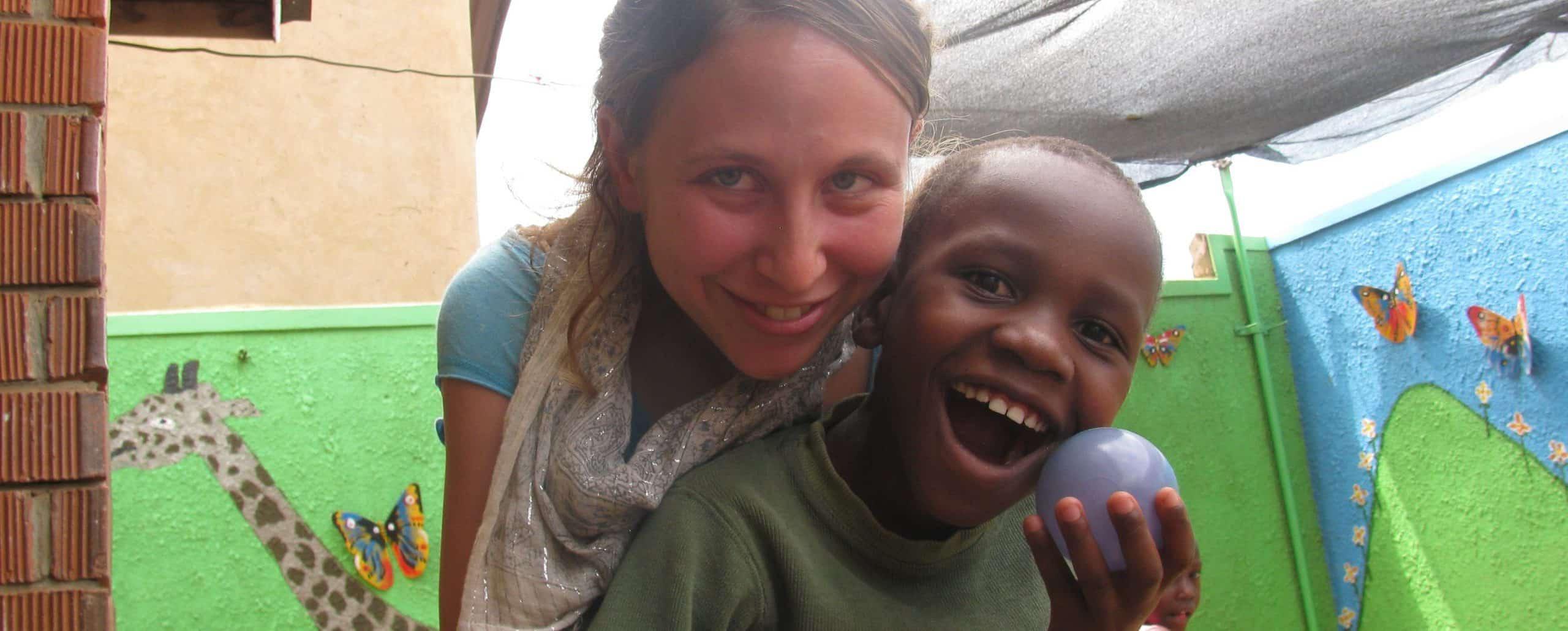 התנדבות בגני ילדים באוגנדה